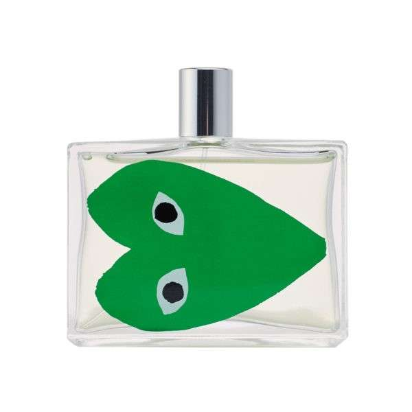 comme des garcons parfums play green