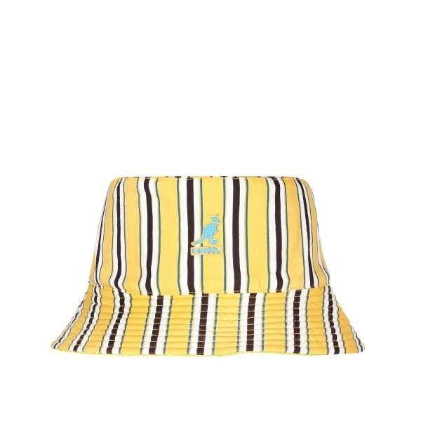kangol-double-pattern-bucket-yellow-k5275