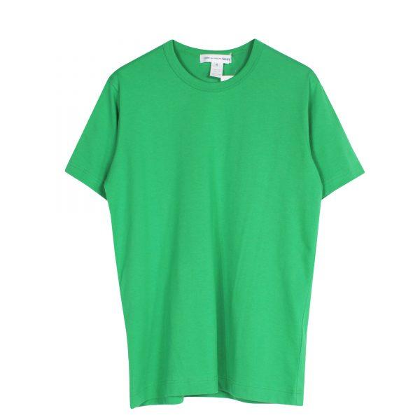 comme-des-garcons-shirt-logo-printed-tshirt-green-w27117