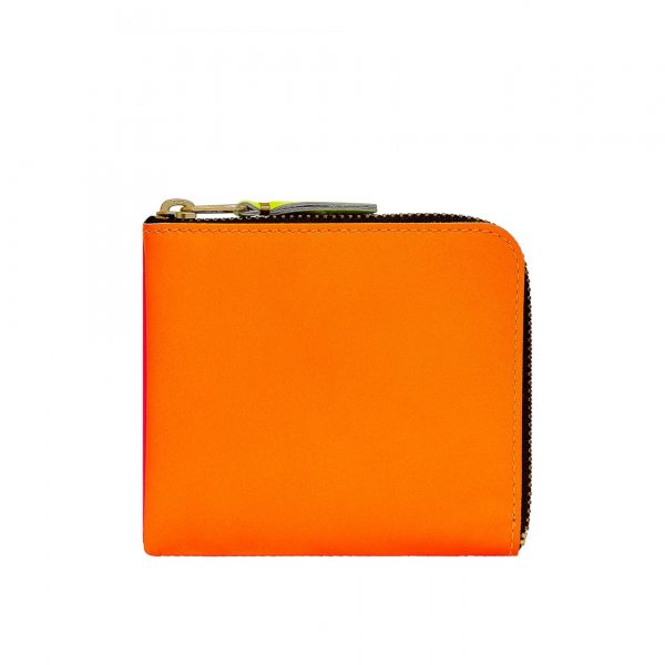 comme-des-garcons-wallet-super-fluo-light-orange-pink-sa3100sf