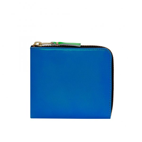 comme-des-garcons-wallet-super-fluo-blue-green-sa3100sf
