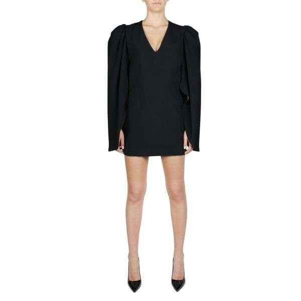 federica-tosi-gigot-sleeved-mini-dress-fti20ab156 (1)