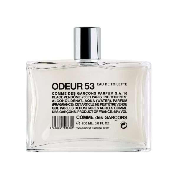 comme des garcons parfums odeur 53
